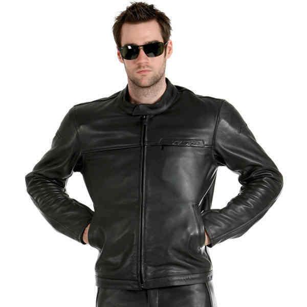 Freeway Leather Jacket   Black   Road Jackets Mens Leather