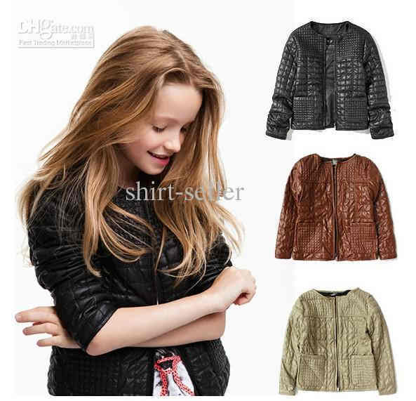 Fashion For Girls Leather Jacket