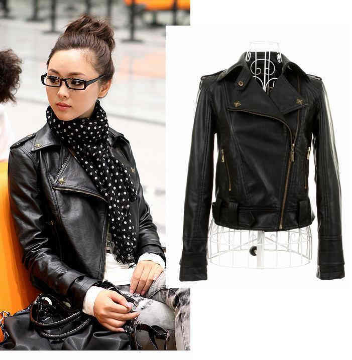 Fashion For Casual Leather Jackets For Women