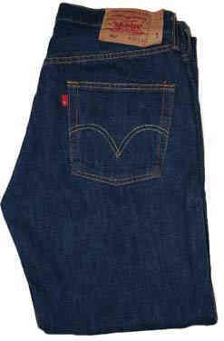 Fashion For Levi Dark Blue Jeans