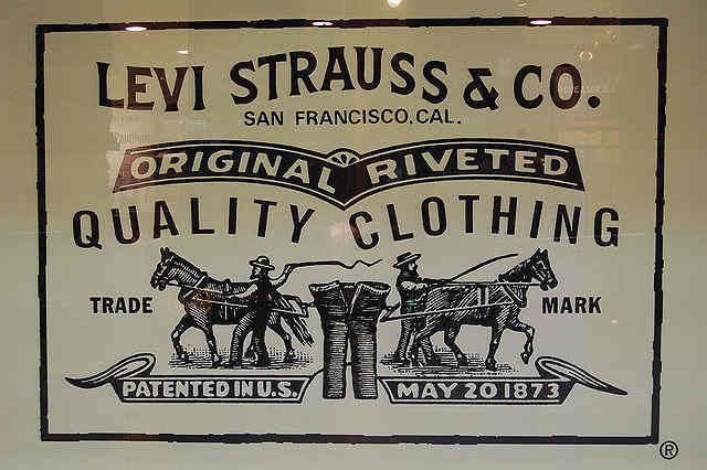 Fashion For Levi Strauss First Jeans