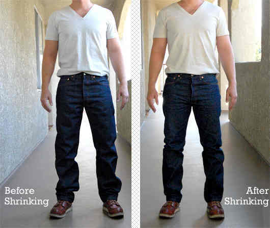 Shrink To Fit  A Guide To Shrinking The Classic Levis 501 STF