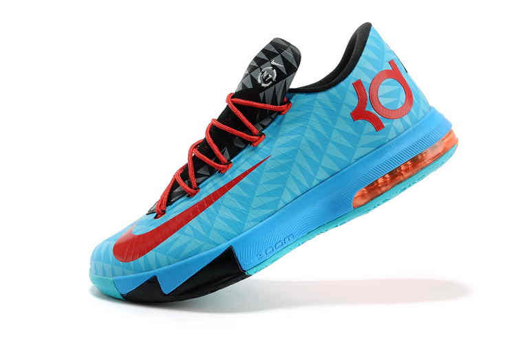 2014 Nike Zoom KD VI Kevin Durant Basketball Shoes   Blueblack