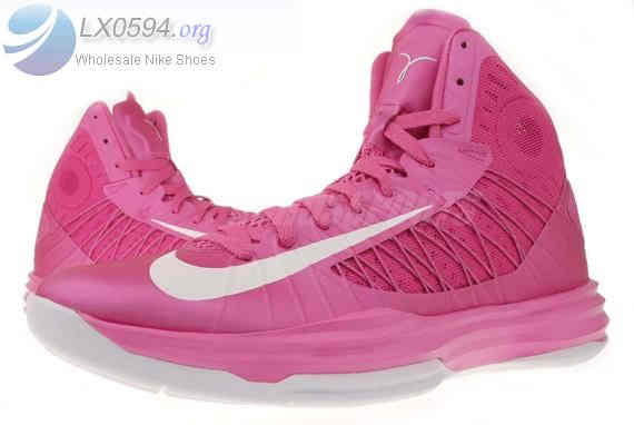 Pink Nike Hyperdunk Womens Basketball Shoes  7633   US  5286