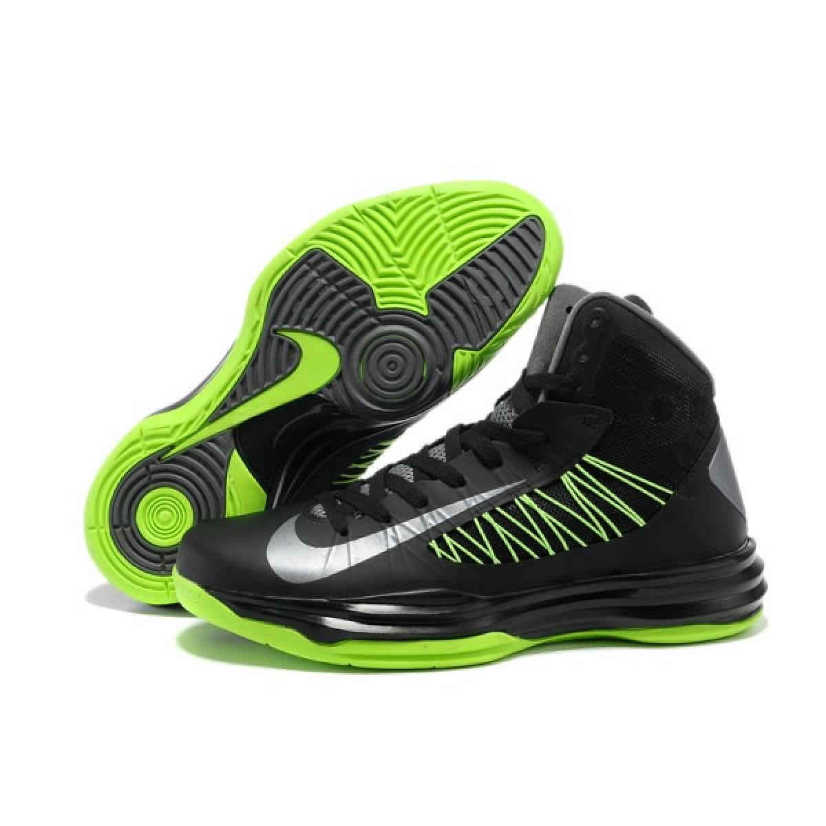 Nike Lunar Hyperdunk X 2012 LeBron James BlackGreyGreen