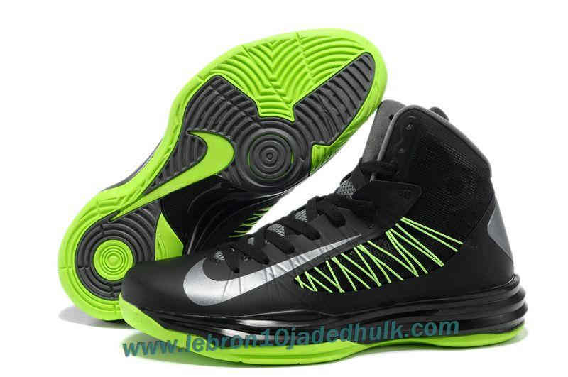 Authentic Nike Lunar Hyperdunk 2013 Mens Basketball Shoes Black