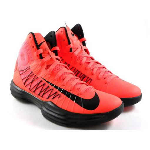 Nike Hyperdunk 2012 Crimson OrangeBlack Basketball Mens Shoes