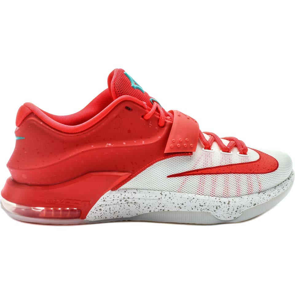 Nike 707560 613 KD 7 Egg Nog Christmas Mens Basketball Shoes