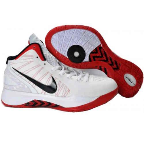 Nike Zoom Hyperdunk 2011 Basketball Shoes White RedNike