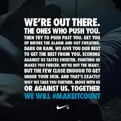Nike Motivational Quotes   The Top 10   Notta Lotta