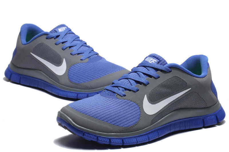 2014 Latest Colorful Version 40 V3 NIke Mens Running Shoes Gray