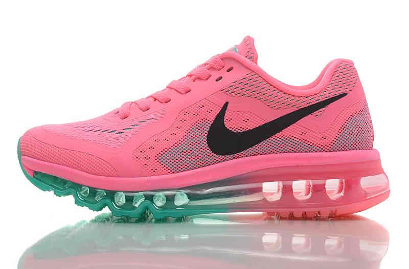 Nike AIR MAX 2014 Womens Running Shoes   PinkBlack Discount