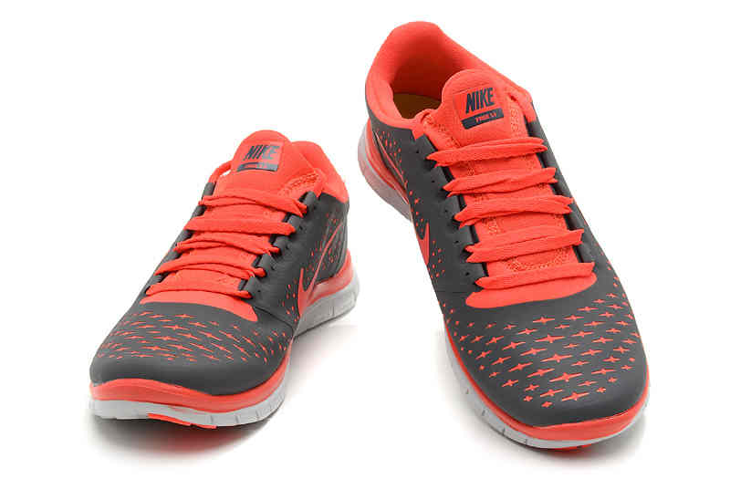 2013 New Arrival Nike Free 30 V4 Womens Running Shoes GrayOrange