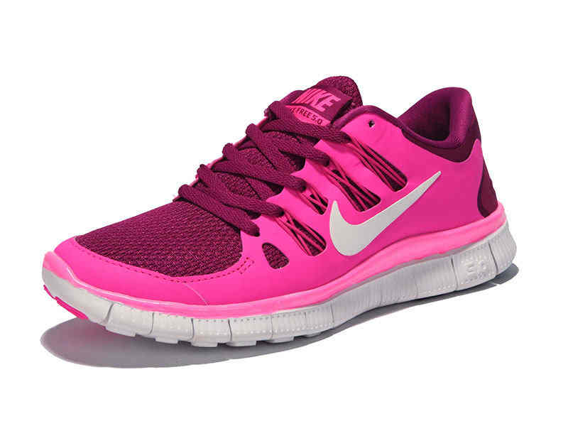 2014 Latest Nike Free Run 50 Nike Running Shoes For Women Pink