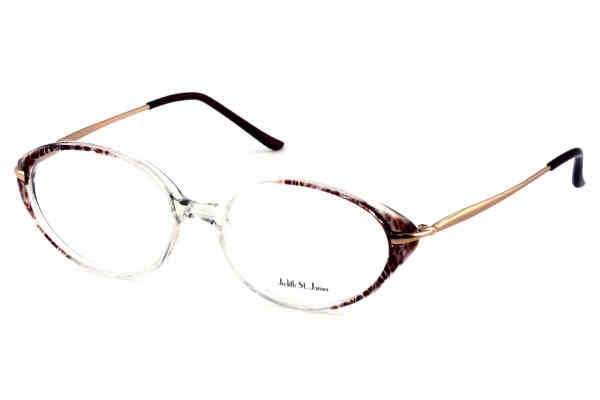 Pin Judith St James Jsj Tulip Gold Lavender Womens Eyeglasses On