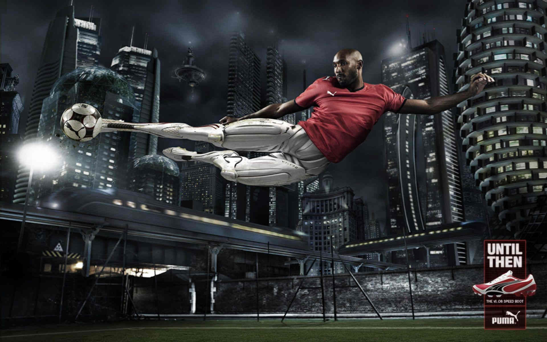 Download Wallpaper Sports Soccer Puma Nicolas Anelka 1920×1200 HD