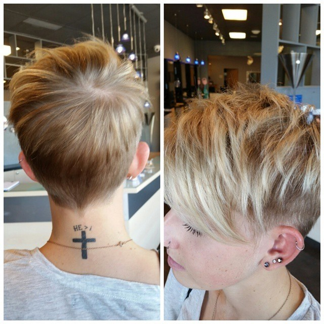 boyish pixie cut for summer