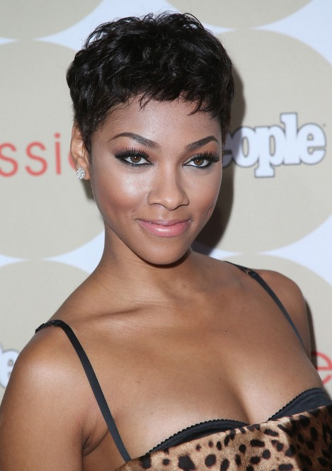bria murphy short haircut 2014