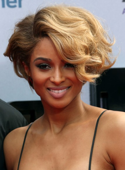 ciara short hairstyles 2014