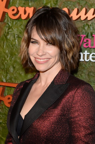 evangeline lilly short haircut 2014