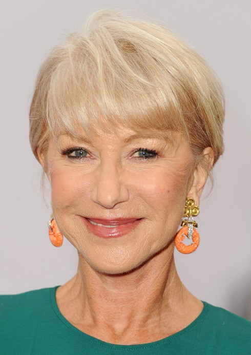 helen mirren short haircut for 2014