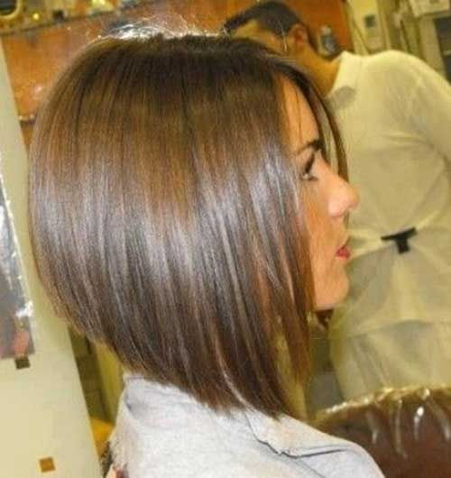 invert a line bob hairstyle