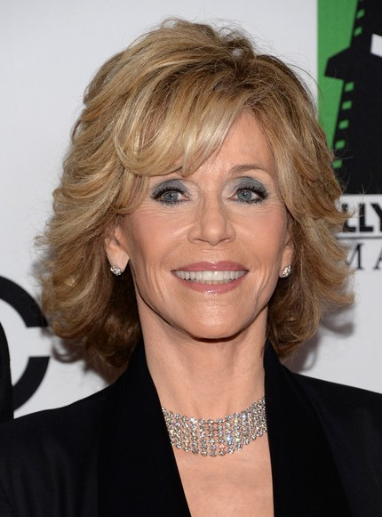 jane fonda short hairstyle 2014