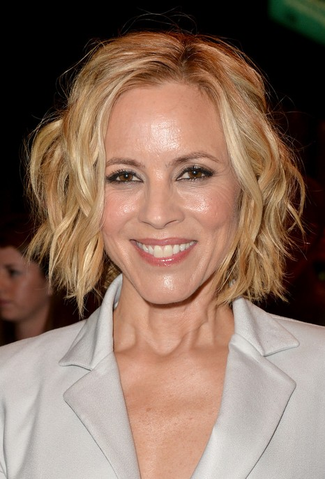 maria bello short hairstyle 20141