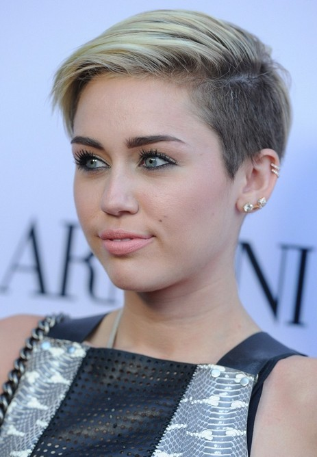 miley cyrus short haircut for 2014
