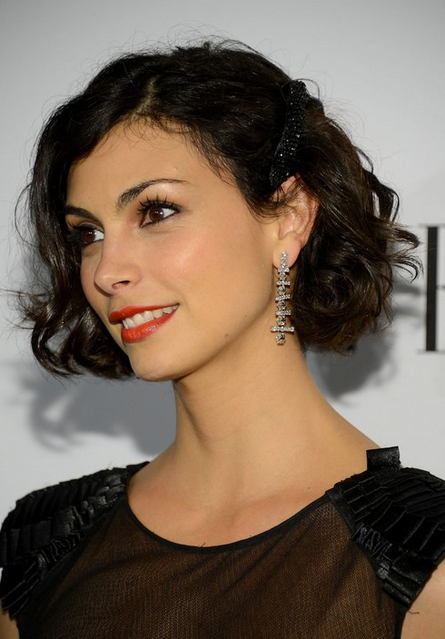 morena baccarin short hair style for 2014