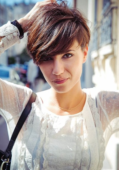 short haircut for summer 2014