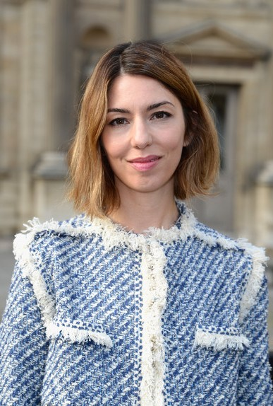 sofia coppola short haircut 2014