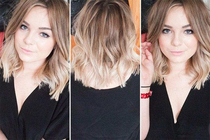 summer hair ideas sweet ombre bob cut for girls